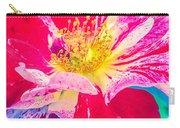 Fleurie Peppermint Rose High Key Carry-all Pouch