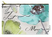 Fleurs De France  Carry-all Pouch