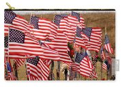 Flight 93 Flags Carry-all Pouch