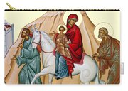 Flight Into Egypt Painting At Shepherds Field Carry-all Pouch