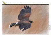 Flight Of The Harris Hawk Carry-all Pouch