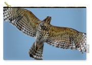 Flight Of The Red Shouldered Hawk Carry-all Pouch