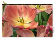 Flighty Tulips Carry-all Pouch