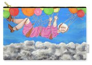 Floating Above Storm Clouds Carry-all Pouch