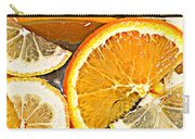 Floating Citrus Carry-all Pouch