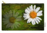 Floating Flower Reflection Carry-all Pouch