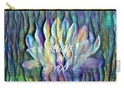 Floating Lotus - I Believe In You Carry-all Pouch