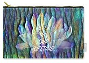Floating Lotus - Peace In Our Lifetime Carry-all Pouch