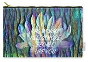 Floating Lotus - The World Needs You Carry-all Pouch