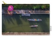 Floating Market Aerial View Carry-all Pouch by Pradeep Raja PRINTS