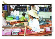 Floating Market Thailand Carry-all Pouch