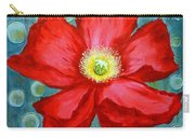 Floating Poppy Carry-all Pouch