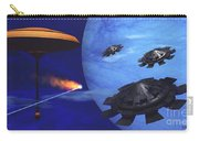 Floating Space City Carry-all Pouch by Corey Ford