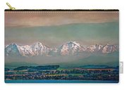 Floating Swiss Alps Carry-all Pouch