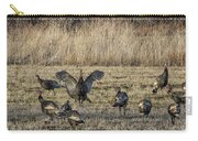 Flock Of Wild Turkeys Carry-all Pouch