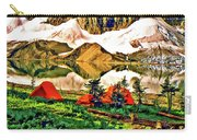 Floe Lake Painted Carry-all Pouch