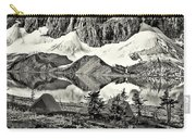 Floe Lake Sepia Carry-all Pouch