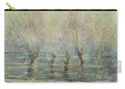 Flood In Giverny Carry-all Pouch