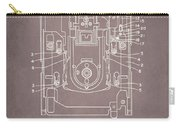 Floppy Disk Assembly Patent Drawing 1a Carry-all Pouch