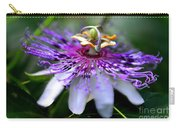 Flora Passiflora Carry-all Pouch