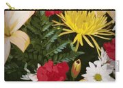 Floral 1 Carry-all Pouch