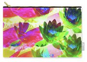 Floral Abstract #3 Carry-all Pouch
