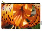 Floral Abstracts Art Prints Summer Tiger Lily Baslee Troutman  Carry-all Pouch