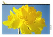 Floral Art Bright Yellow Daffodil Flowers Baslee Troutman Carry-all Pouch