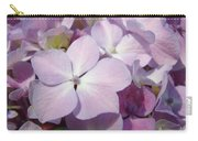 Floral Art Hydrangea Flowers Purple Lavender Baslee Troutman Carry-all Pouch