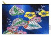 Floral Art Illustrated Carry-all Pouch