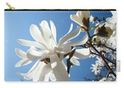 Floral Art Print Landscape Magnolia Tree Flowers White Baslee Troutman Carry-all Pouch