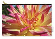 Floral Art Prints Bright Dahlia Flower Canvas Baslee Troutman  Carry-all Pouch