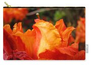 Floral Art Prints Orange Rhodies Rhododendrons Baslee Troutman Carry-all Pouch