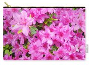Floral Art Prints Pink Azalea Garden Landscape Baslee Troutman Carry-all Pouch