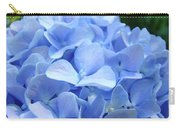 Floral Artwork Blue Hydrangea Flowers Baslee Troutman Carry-all Pouch