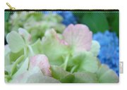 Floral Artwork Hydrangea Flowers Soft Nature Giclee Baslee Troutman Carry-all Pouch