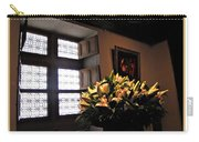 Floral At Chenonceau Carry-all Pouch