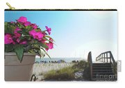 Floral Beach Carry-all Pouch