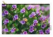 Floral Beehive Carry-all Pouch