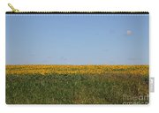 Floral Blur Carry-all Pouch