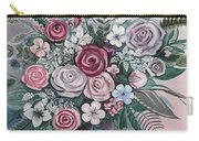 Floral Boom Carry-all Pouch