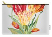 Floral Botanicals-jp3789 Carry-all Pouch