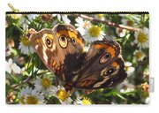 Floral Buckeye Carry-all Pouch