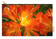 Floral Burst Carry-all Pouch