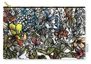 Floral Bush I Carry-all Pouch