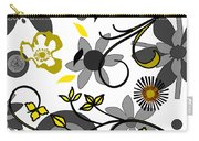 Floral Collision Carry-all Pouch