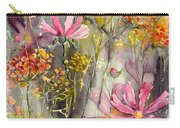 Floral Cosmos Carry-all Pouch