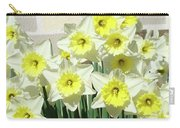 Floral Daffodils Garden Art Prints Floral Bouquet Baslee Troutman Carry-all Pouch