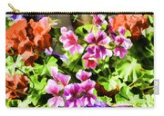 Floral Design 5 Light Carry-all Pouch