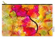 Floral Duet Carry-all Pouch